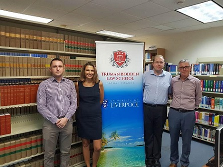 New academic staff join the Truman Bodden Law School
